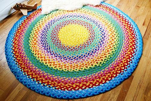 Плетение ковриков спицами 70