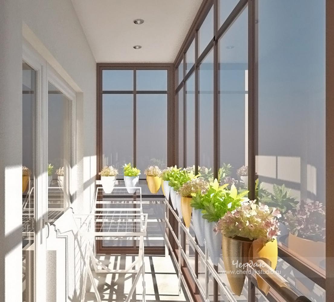 Оформление стеклянных балконов.