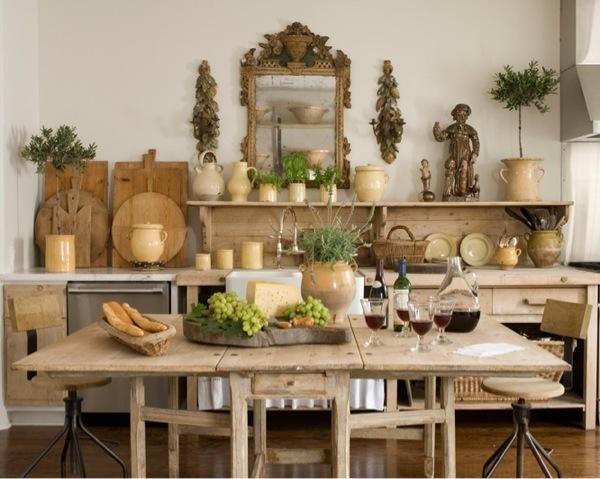 Декор кухни в стиле прованс своими руками