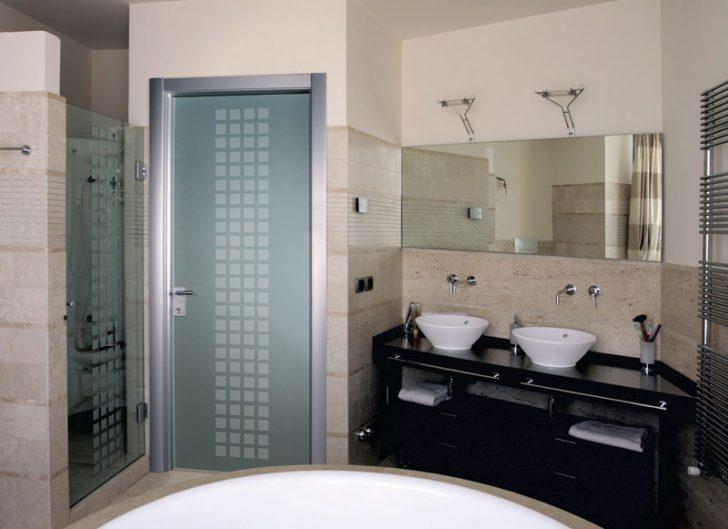 Ванные комнаты дизайн двери