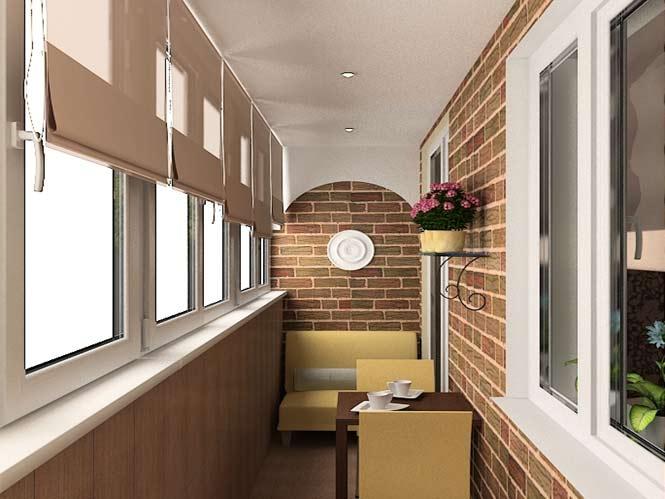 Дизайн балкона 3.5 кв.м фото