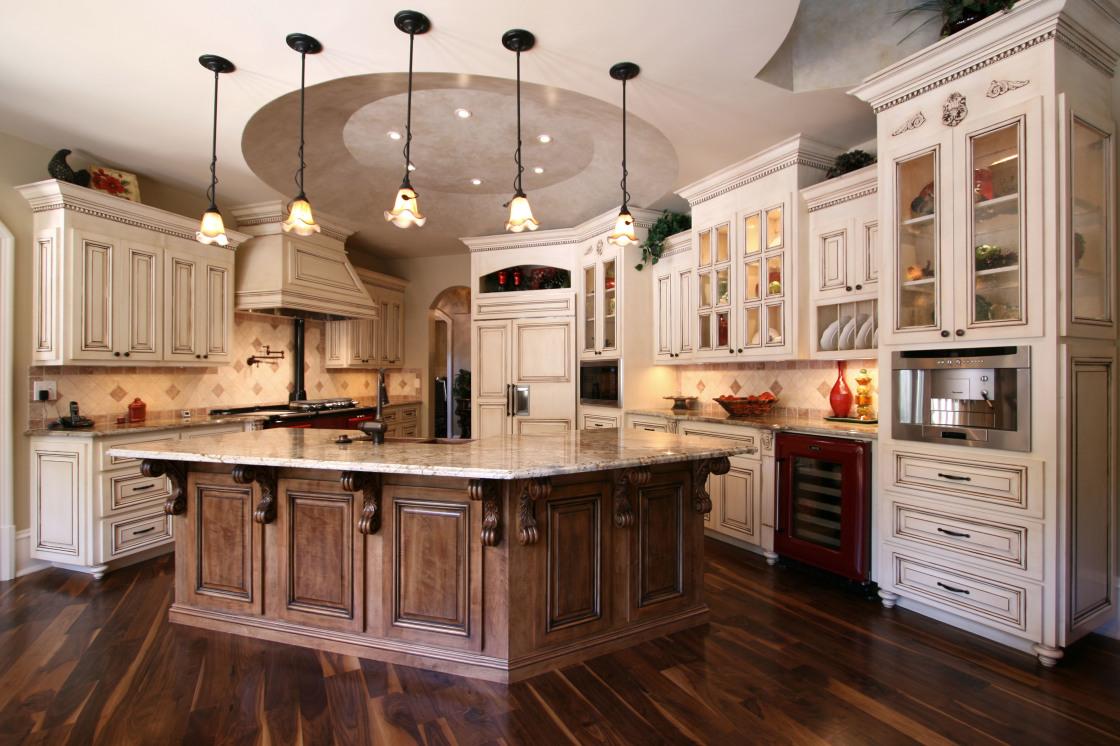мимо картинки дизайн кухни из дерева вид