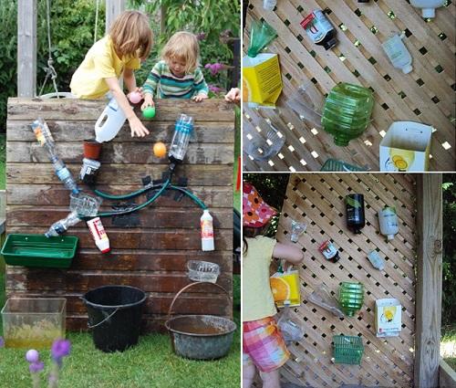 Игровая на даче для детей своими руками