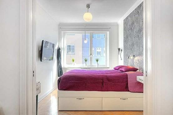 дизайн маленькой спальни приемы и хитрости фото примеров
