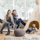Новогоднее оформление дома со скандинавским шиком