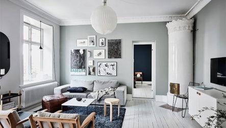 Уникальный дизайн небольшой квартиры в Гетеборге