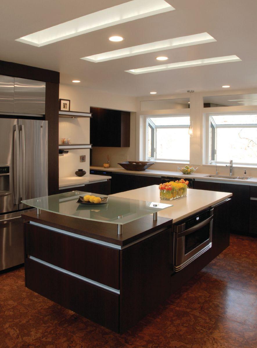 Потолки для кухни дизайн 2017