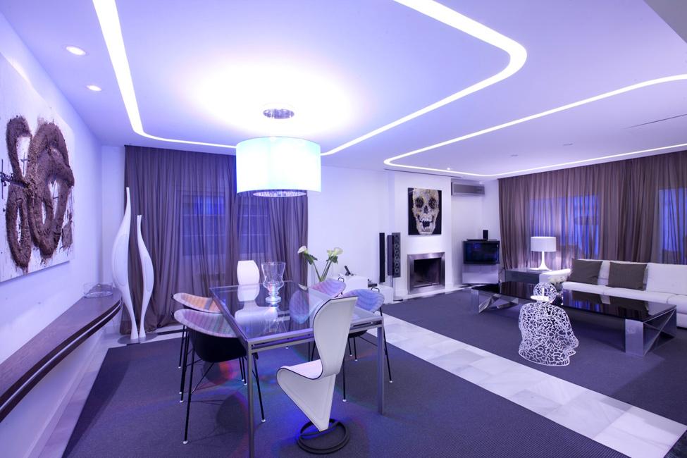 Фото необычных дизайнов квартир