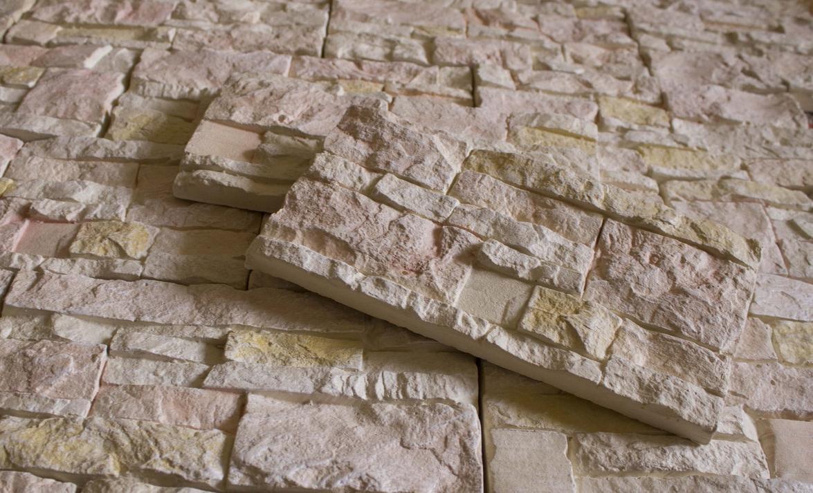 Плитка из гипса под камень