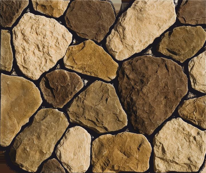 декоративный камень в прихожей