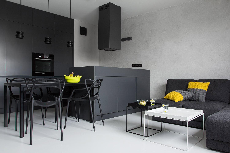 Дизайн в черно белом стиле