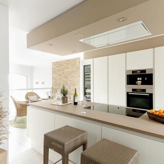 потолкпотолки из гипсокартона на кухнеи из гипсокартона на кухне