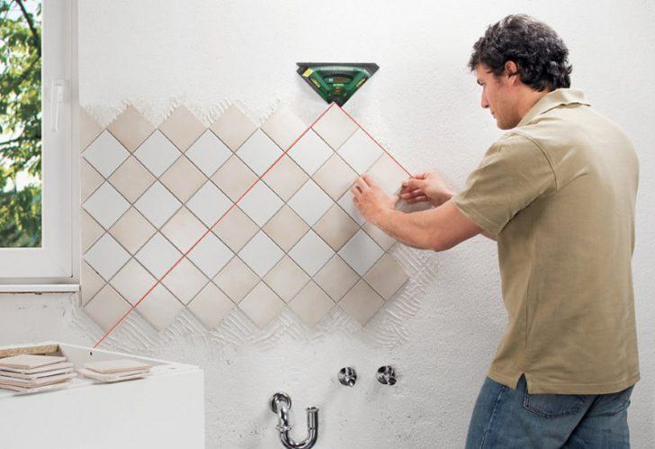 укладка плитки по диагонали
