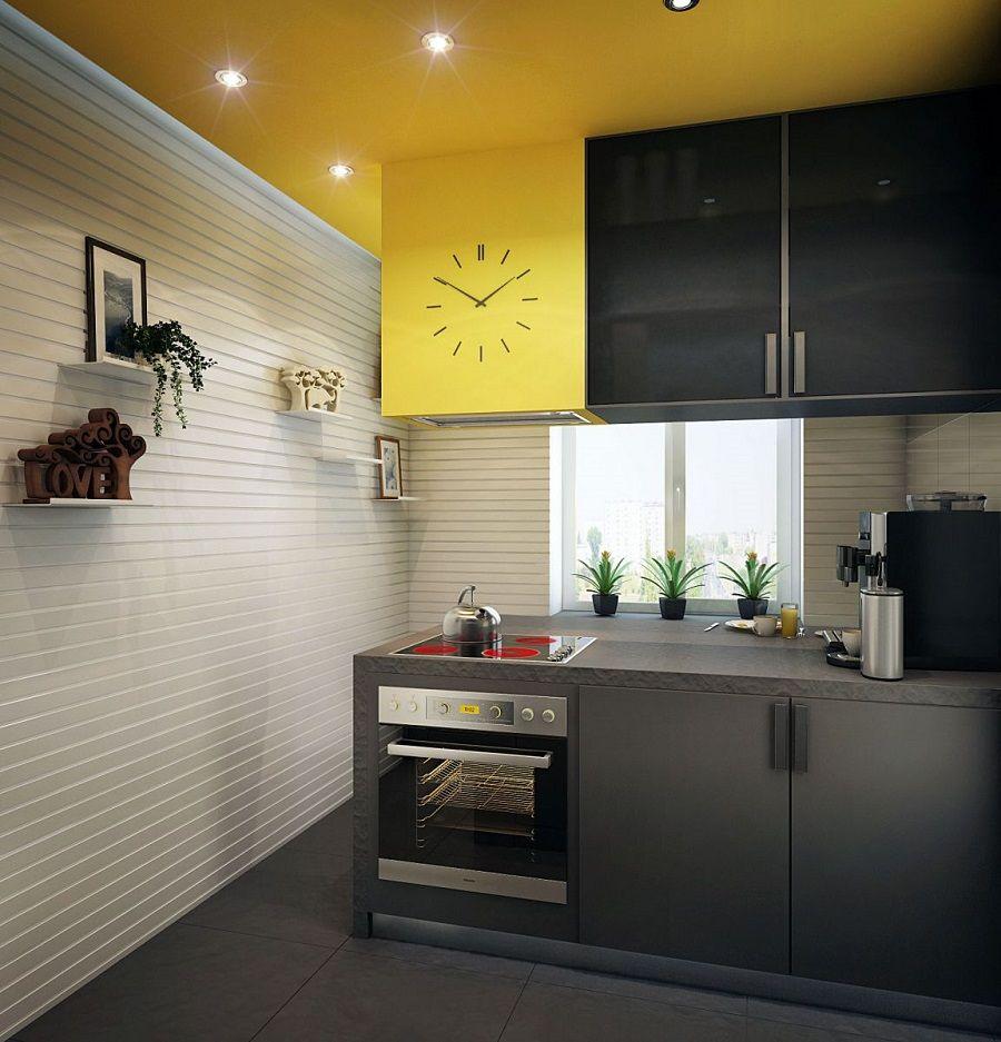 модная отделка стен на кухне фото ощущениям бумага средней