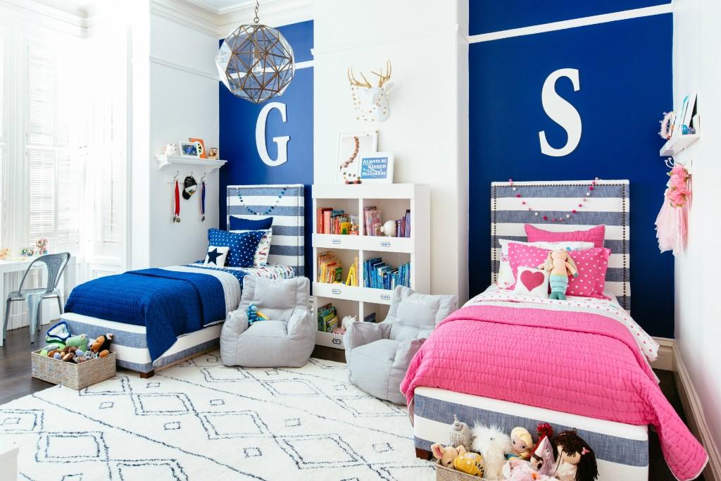 Дизайн детских комнат для девочки и мальчика