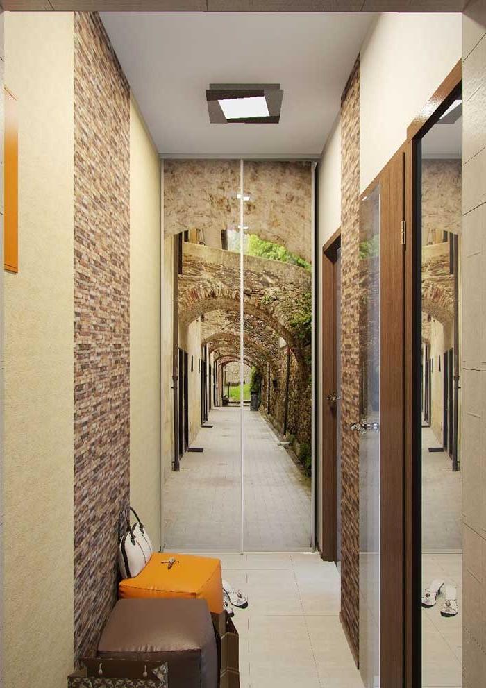 Дизайн коридора в хрущевке однокомнатной квартиры