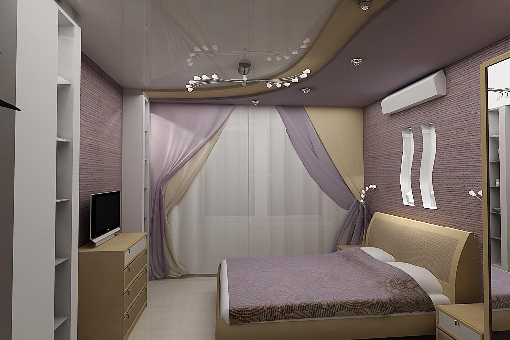 итогам получается, натяжной потолок в спальне дизайн фото что