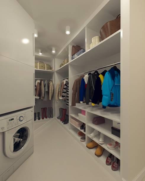 гардеробная комната своими руками