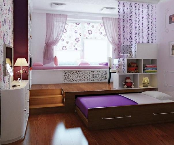 Детские комнаты для мальчиков дизайн с подиумом
