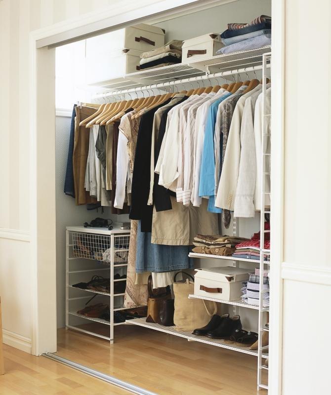 фото гардеробных комнат своими руками достаточно