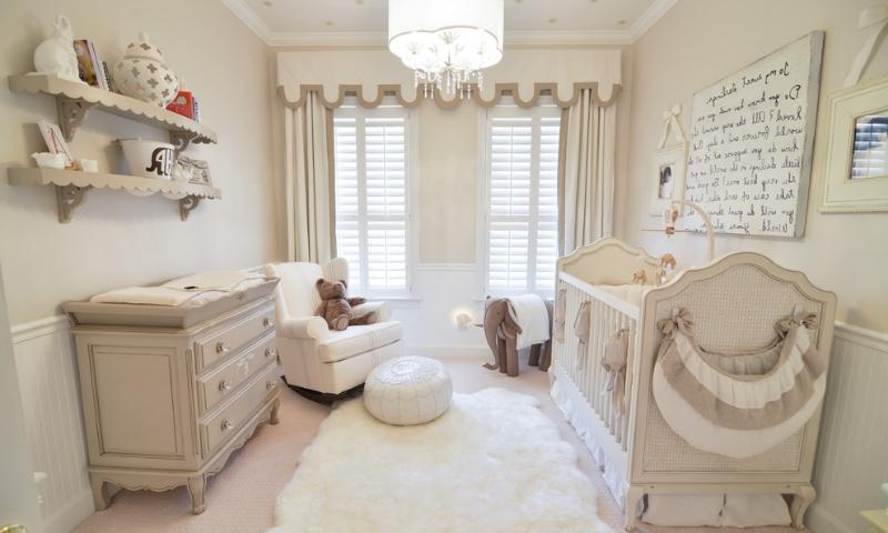 Интерьер детской комнаты для новорожденного фото