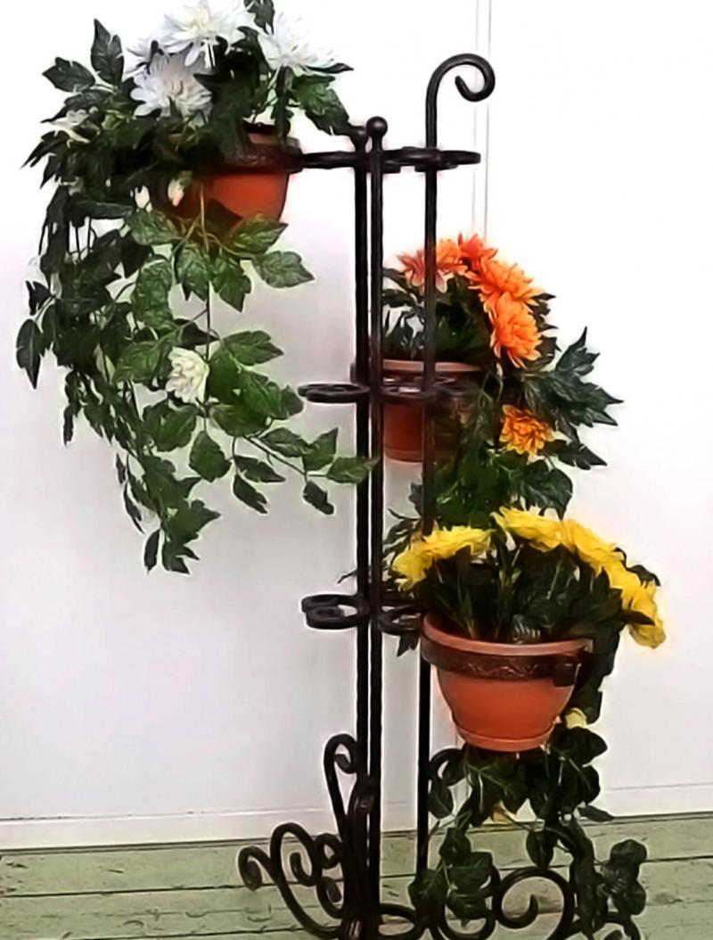 Кованые изделия для одного цветка