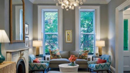Сочетание цветов в интерьере и как объединить пространство цветом