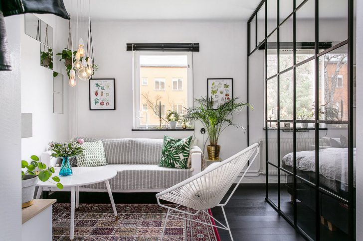 Стильный дизайн маленькой квартиры