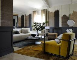 Интерьеры французского замка в авангардном стиле