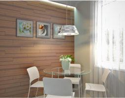 Новое в облицовке: ламинат на стенах, как отделочный материал