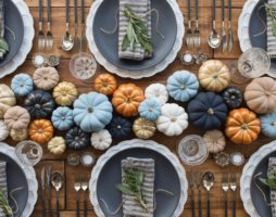 Украшение и сервировка праздничного стола