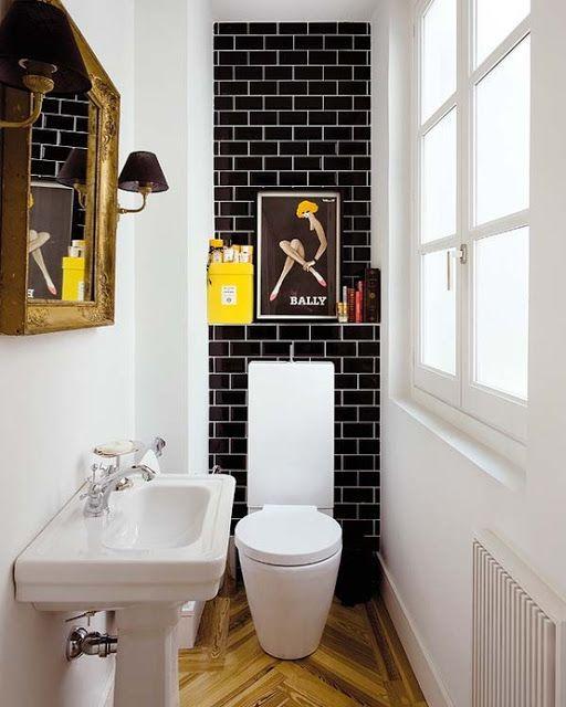 Дизайн маленького туалета (80 фото)