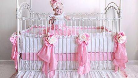 Декорируем детскую кроватку своими руками