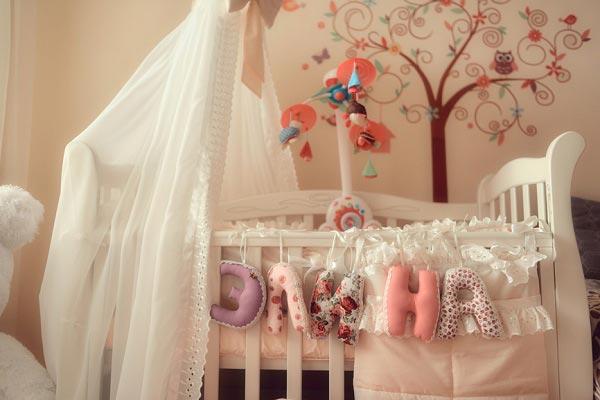 Как украсить своими руками детскую кроватку фото