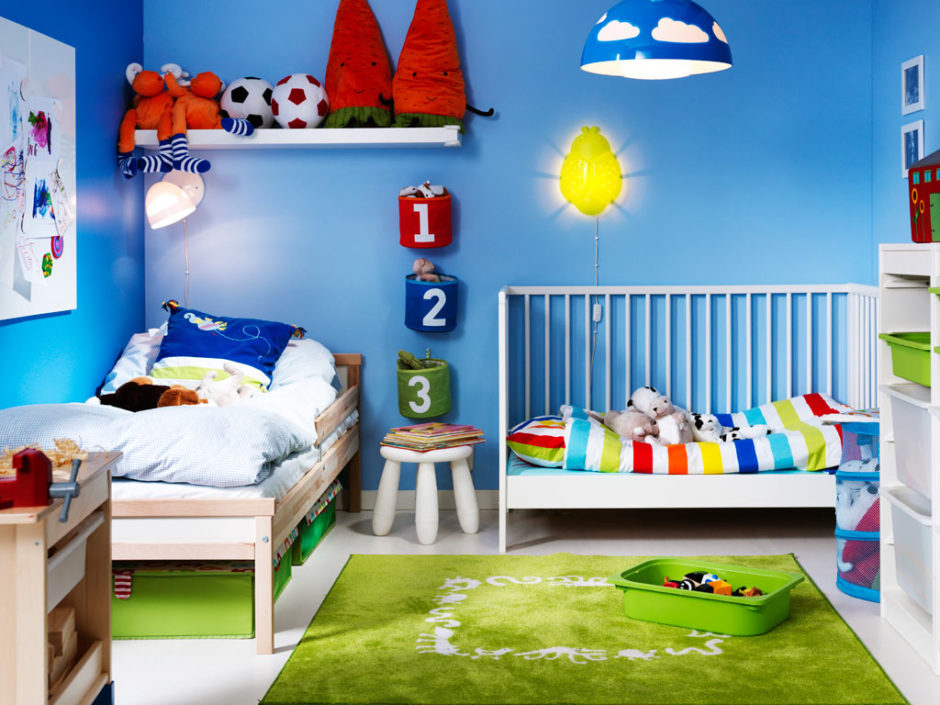 Детская комната для двоих мальчиков своими руками 41