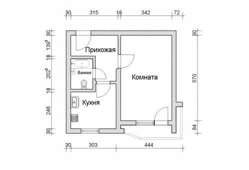 фен шуй маленькой квартиры
