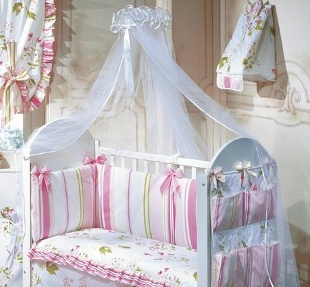 Как можно украсить детскую кроватку своими руками фото