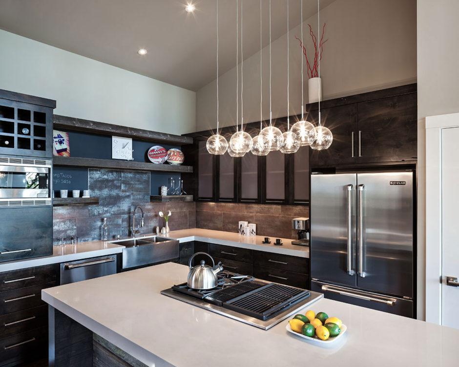 Кухни современный дизайн 2017-2018