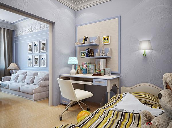 Спальня и детская в одной комнате: примеры удачной