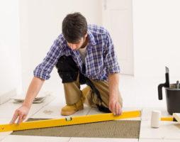 Укладка плитки в квартире или доме своими руками