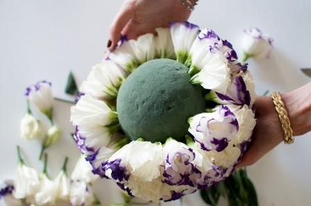 Пена для цветов