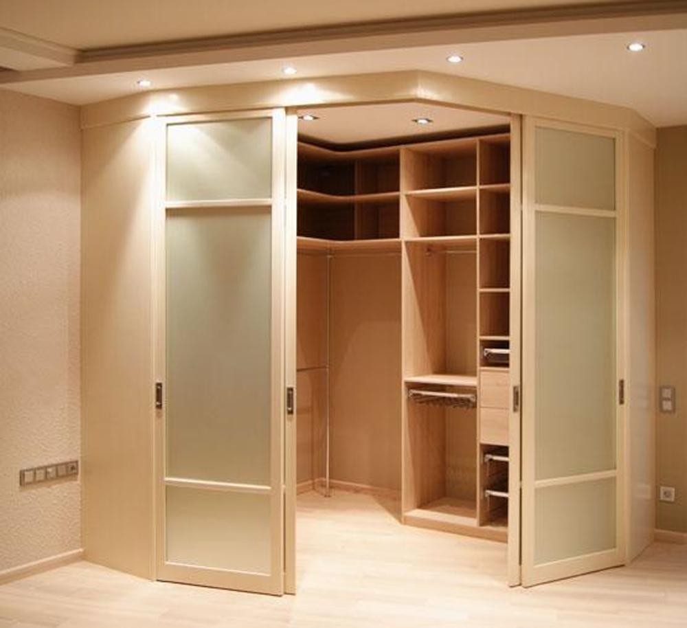 Шкаф гардеробная из гипсокартона