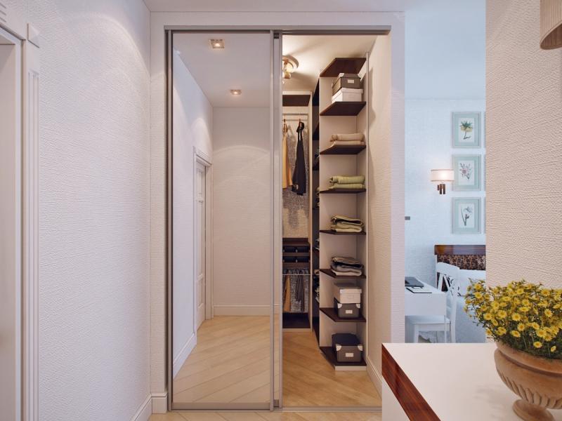Планировка гардеробной: 30 фото примеров оформления.