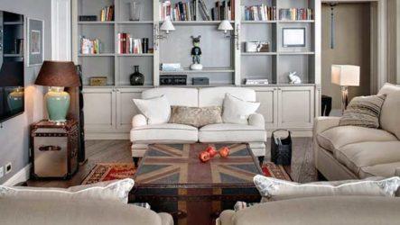 Английский стиль в интерьере комнат