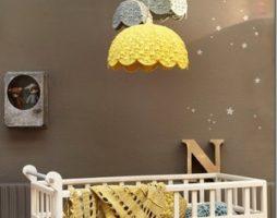 Люстры в интерьере детской комнаты