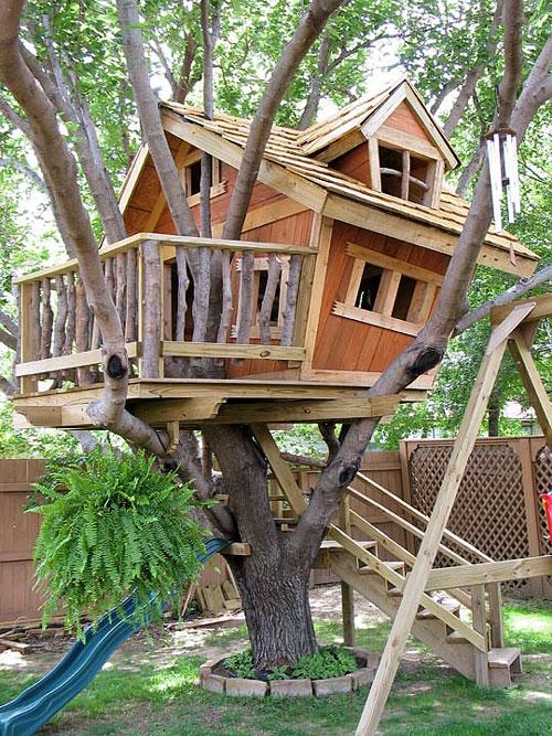 Как сделать мне ребенку дом на дереве 333