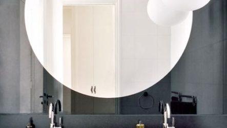 Дизайн зеркала для ванной
