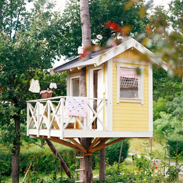 Как сделать мне ребенку дом на дереве 974