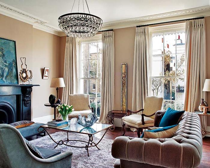Дизайн квартир в английском стиле