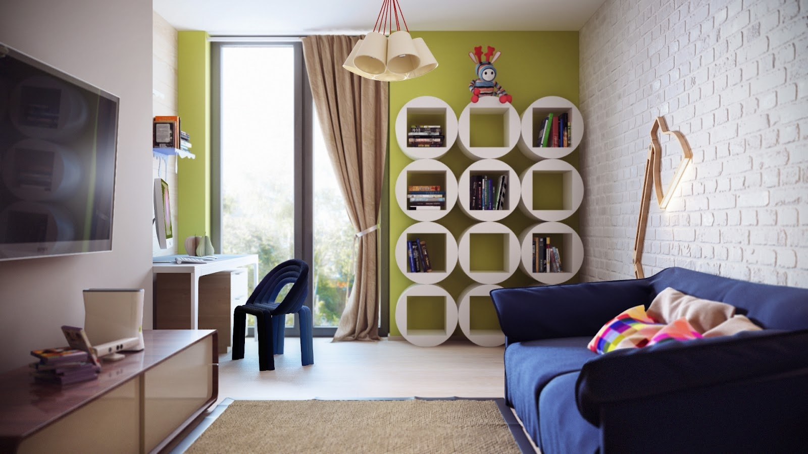 Детская комната  № 3567527 загрузить